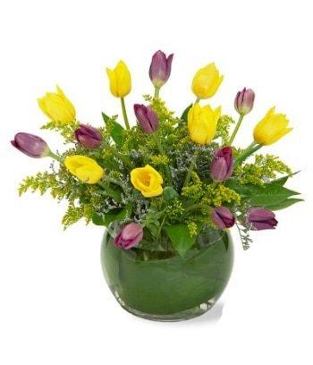 tulipanes con envío a domicilio Ciudad de México